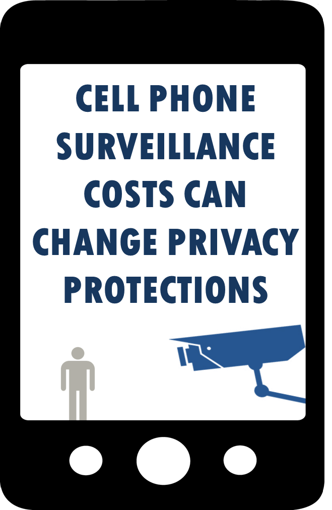 Blog Post: Cell Phone Surveillance Costs Can Change Privacy Protections