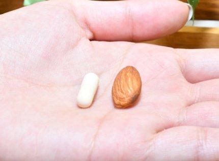 アーモンドと比べたユーグレナから生まれた麹酵素