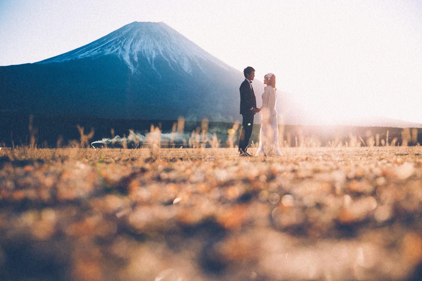 富士山フォトウェディング