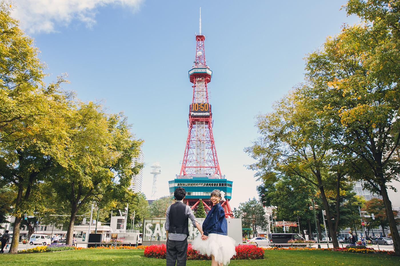 北海道婚紗拍攝