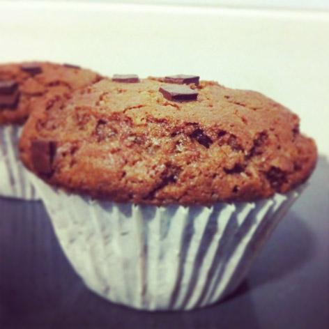 Súper muffins de chocolate!
