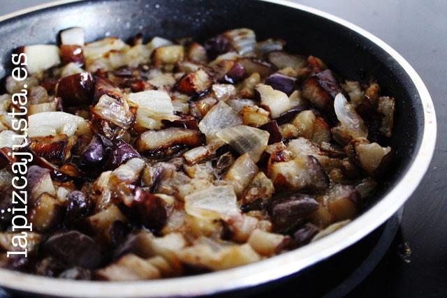 Verdura para la receta hummus de berenjena