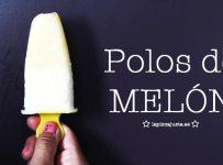 este verano haz estos polos de melón casero tan sencillos de preparar