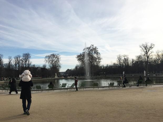 Jardines Tullerías, París
