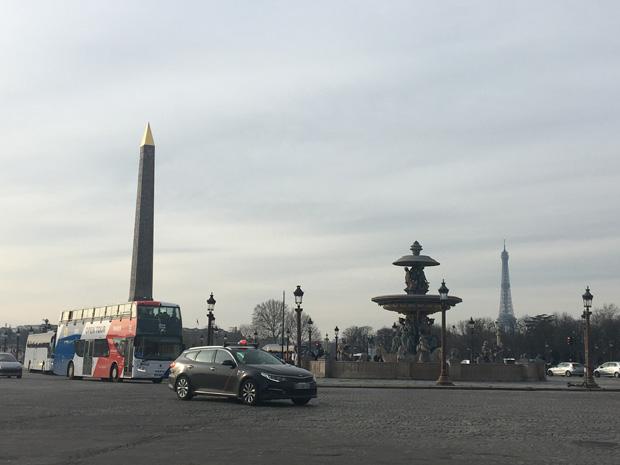 Plaza Concordia, París