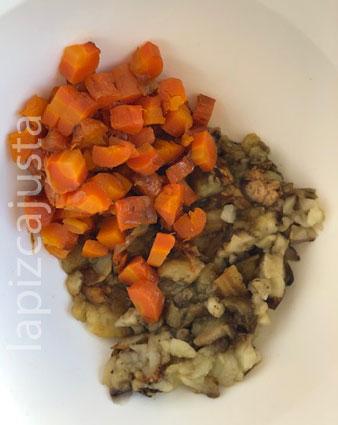 verdura picada