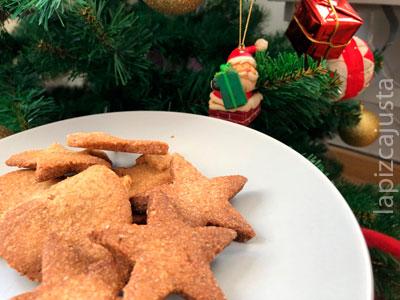 Galletas de mantequilla navideñas