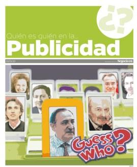 """PORTADA del especial: """"Quién es quién en la publicidad"""""""