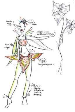 Diseño para Tigridia