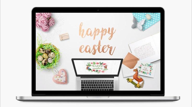 Easter Scene Mockup Generator