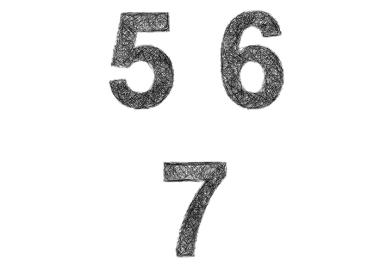 Cómo diseñar logotipos de marcas con números