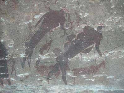 15 pinturas rupestres - Seres anfibios en las diferentes culturas alrededor del mundo