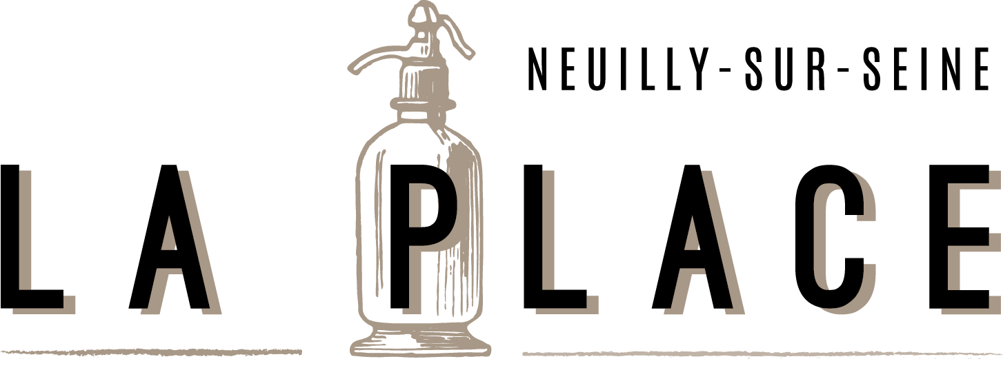 Logo, siphon, bar, restaurant, La Place, Neuilly