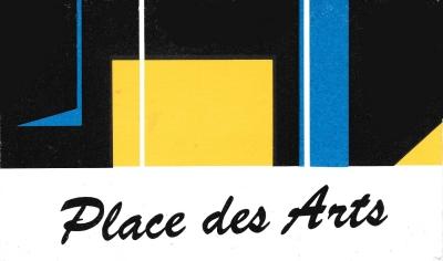 Carte d'adhérent Place des Arts