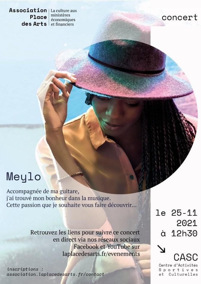 Meylo, concert du 25 novembre 2021