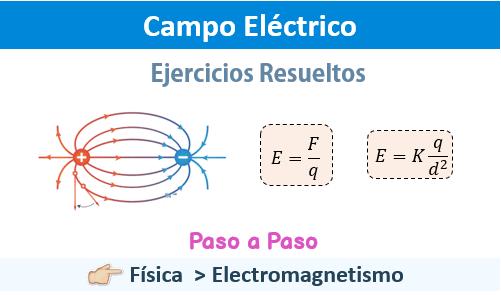 ▷ Campo Eléctrico 【 Ejercicios Resueltos 】 | Laplacianos