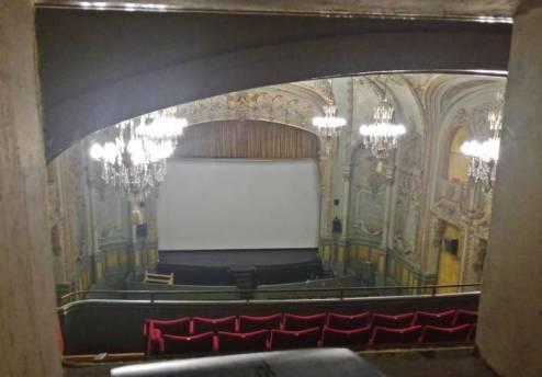 La salle de cinéma a accueilli ses premiers spectateurs.