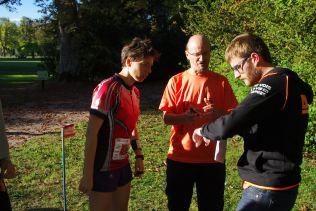 Départ du sprint départemental féminin.