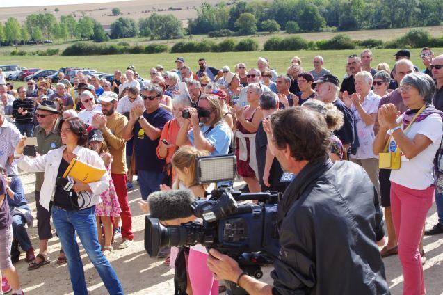 Un rassemblement qui a réuni quelque 200 sympathisants.
