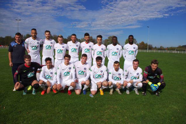 L'équipe fanion du BCV (Bulgnéville-Contrexéville-Vittel) .