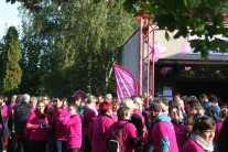 Forte mobilisation pour la marche Octobre Rose