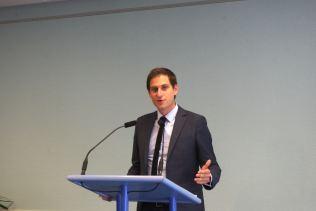 Le nouveau président de l'association Lorraine des congrès, Xavier Bouvet.