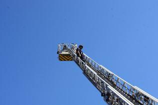 Manoeuvres des pompiers.