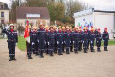 Les Jeunes Sapeurs Pompiers.
