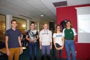 Equipe de triathlon finaliste UNSS France