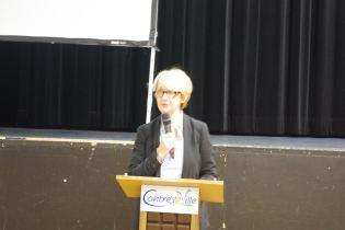 Régine Bégel, présidente de la CLE.
