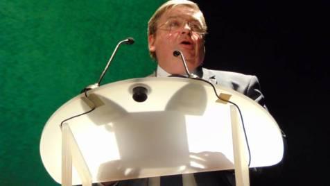 François Vannson, président du Conseil Départemental.