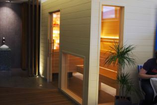 Espace hammam et sauna.