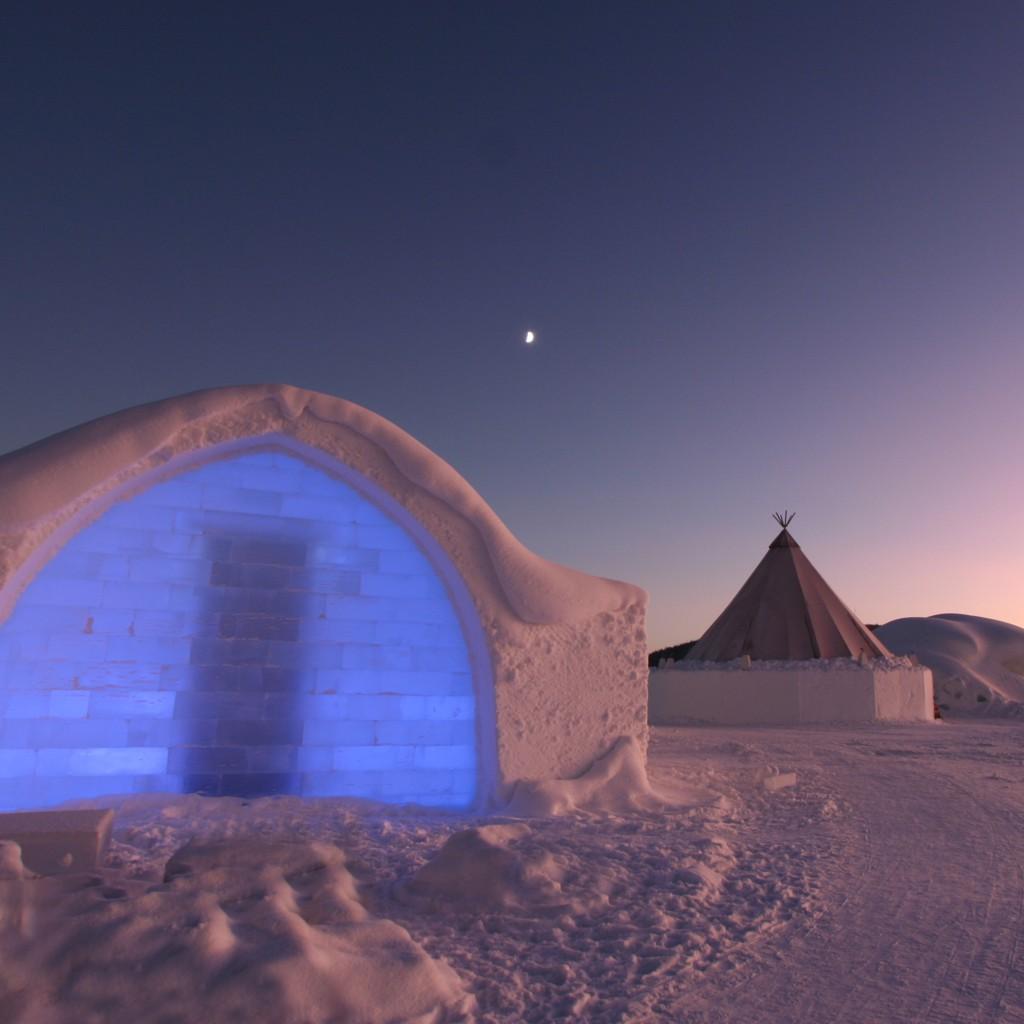 Ice hotel sweedish lapland