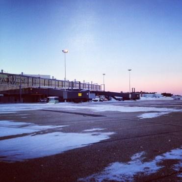 6 o´clock - Airport Rovaniemi