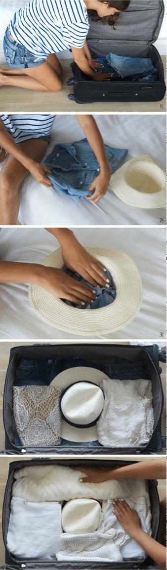 6 tips para hacer una pequeña gran maleta para tu viaje de luna de miel