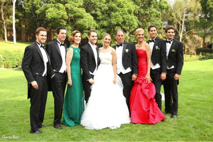 las reglas para vestir de los hombres en la boda - laplanner
