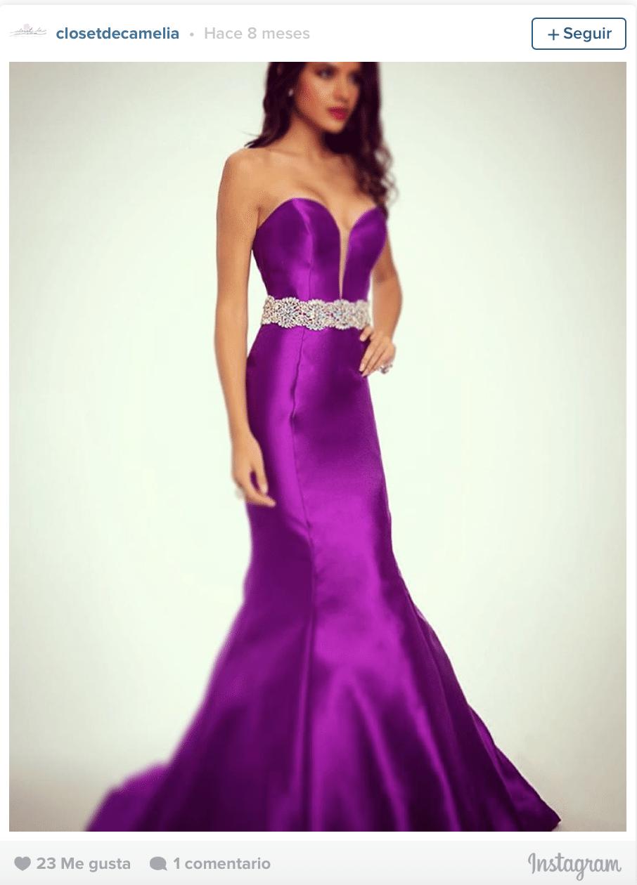 Renta de vestidos de noche cdmx