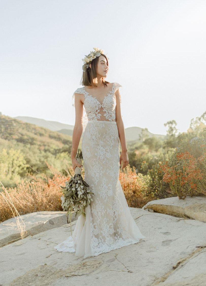2 vestidos de novia 2017