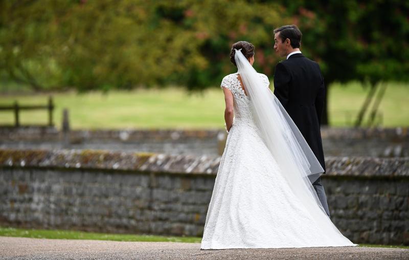 el secreto detrás del vestido de novia de pippa middleton