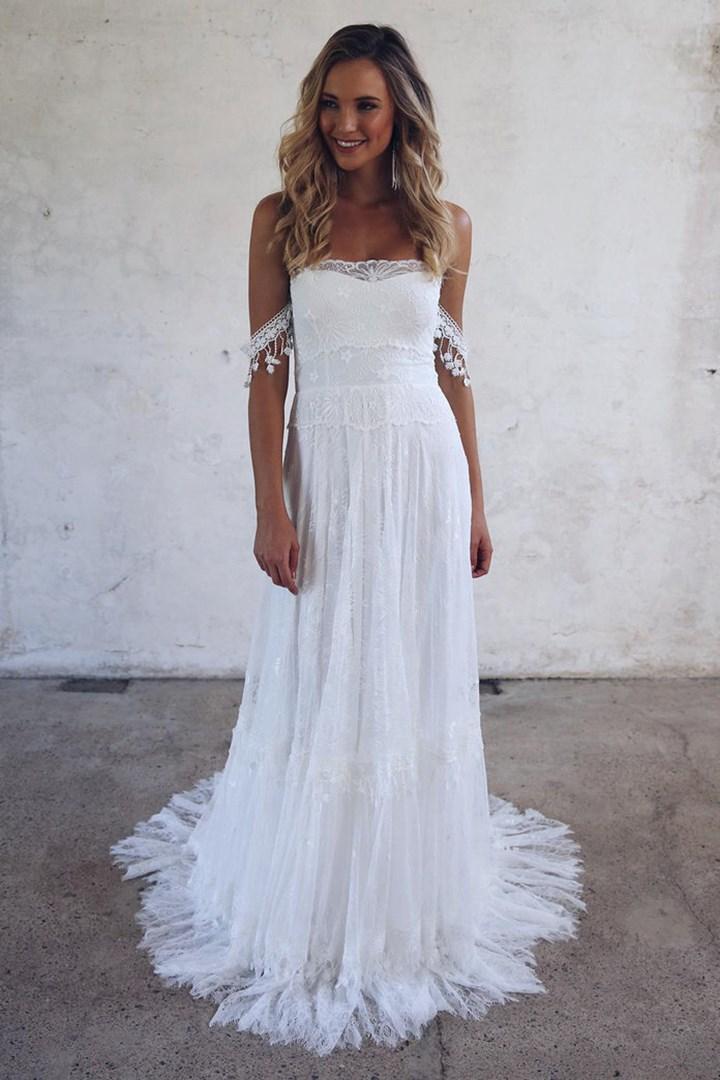 Los 5 estilos de vestidos de novia m s populares del 2017 - Fotos pinterest ...