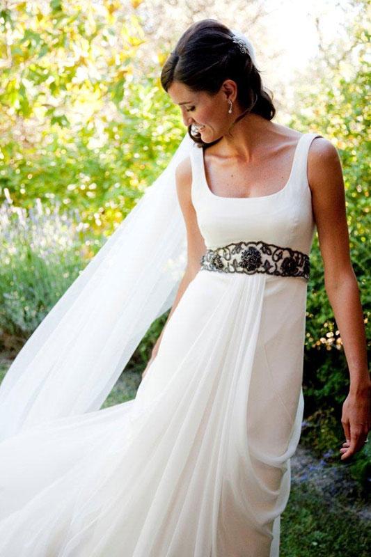 Vestido de novia regional