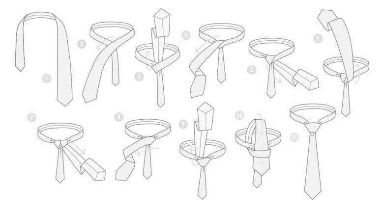 nudo de corbata 6