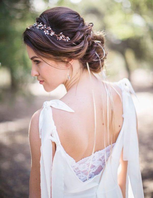 Imagenes de peinados de novia
