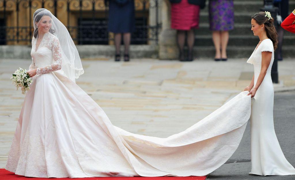 vestido de novia de Kate Middleton 7