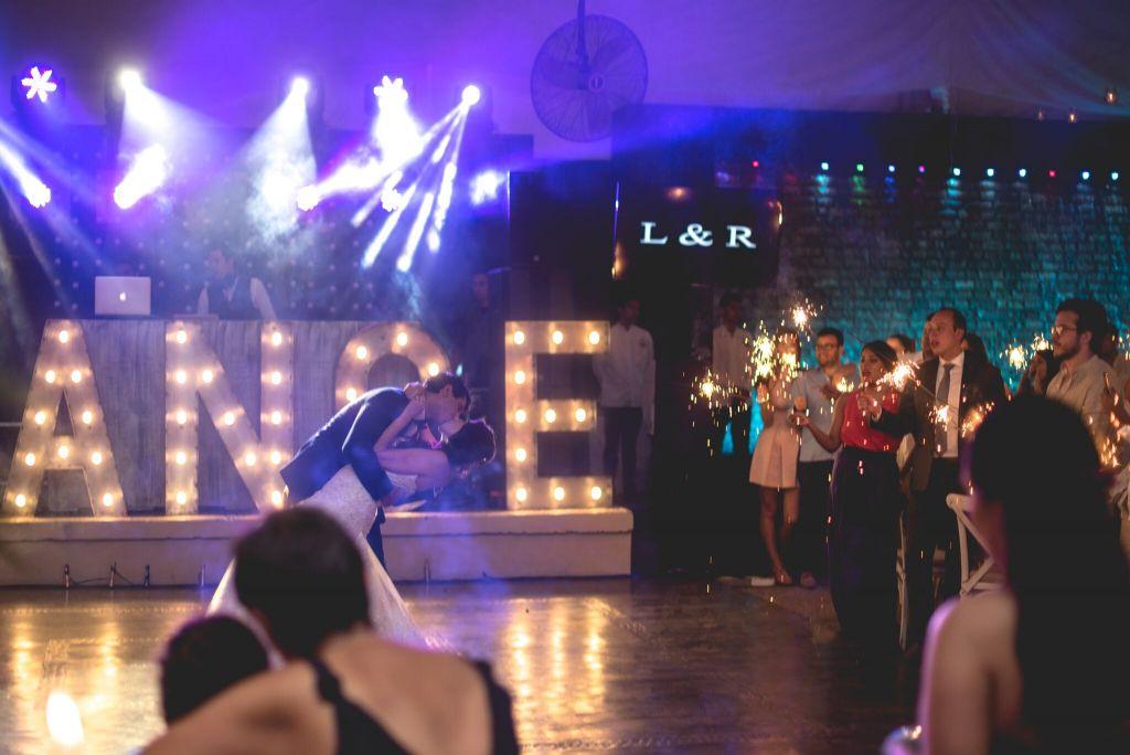 iluminación en tu boda 8