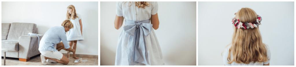 Ideas para vestir a los pajes en una boda clásica