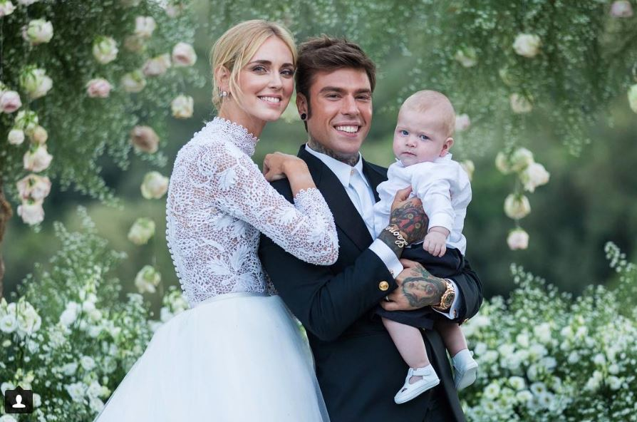 vestido de novia de Chiara Ferragni 5