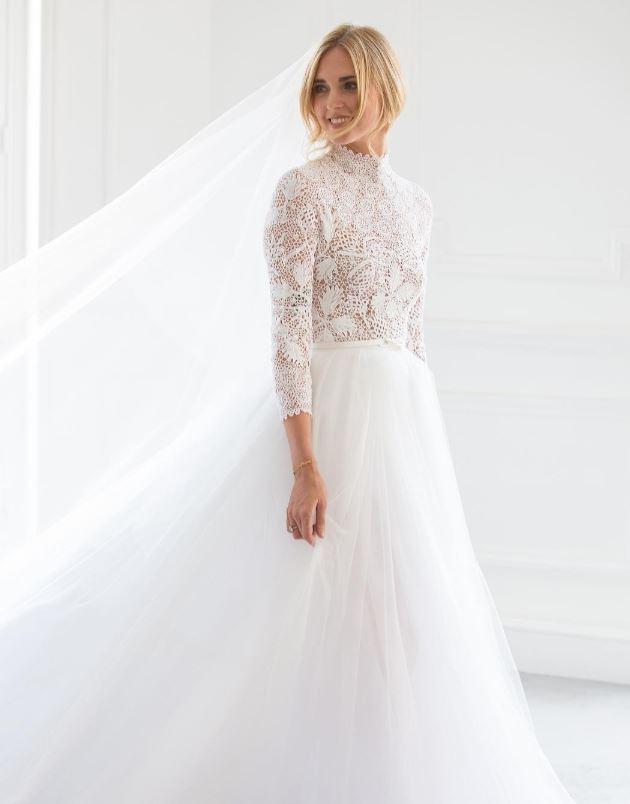 vestido de novia de Chiara Ferragni 6