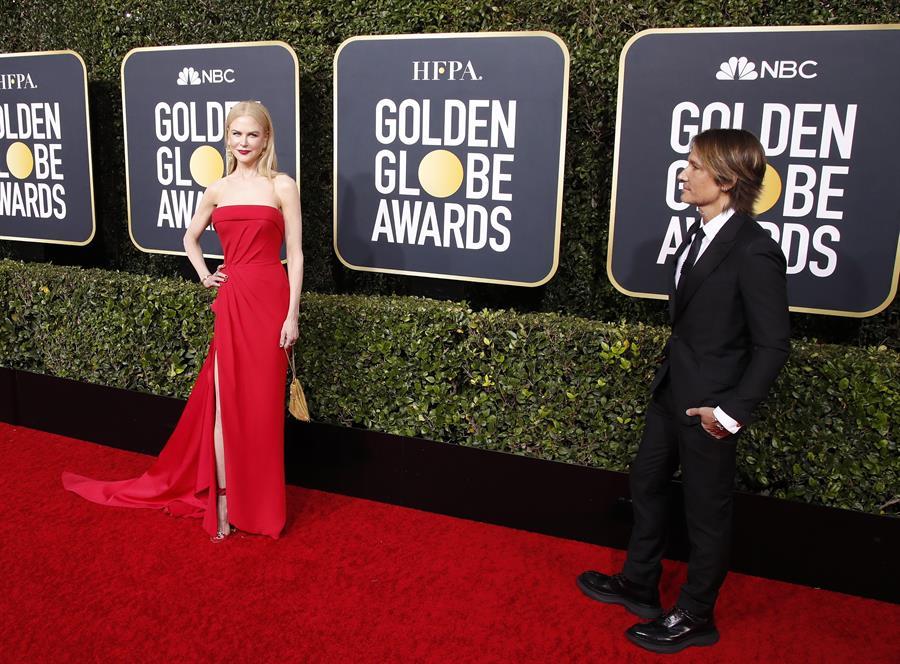 parejas que vimos en los Golden Globes 2020 3