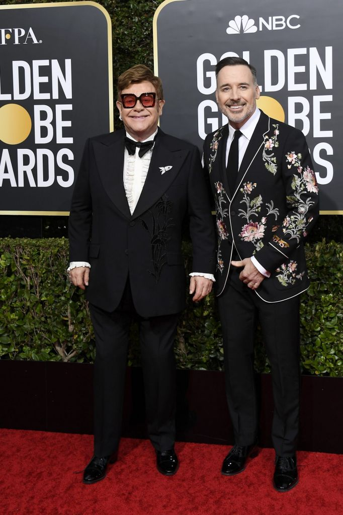 parejas que vimos en los Golden Globes 2020 12